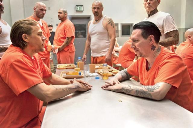 sons of anarchy S7with marylin manson