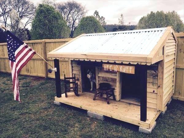 Dog House Plans Free Pdf Best Houses Ideas On Big Pet Pallet Fence Stylish Designs Pallet Dog House Dog House Diy Dog House Plans