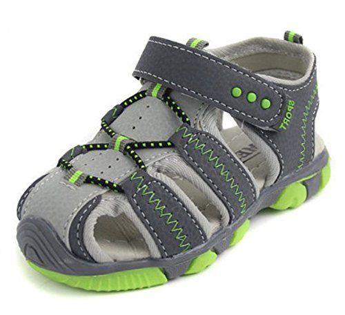 2015 neue Schuhe mit Klettverschluss Kindersandalen Jungen Strandsport Sandalen Boys sandals Sport- & Outdoor Sandalen Kinderschuhe Gr¨¹n - http://on-line-kaufen.de/long-dream/2015-neue-schuhe-mit-klettverschluss-jungen-boys