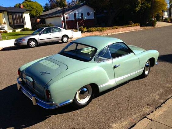 Karmann Ghia Parts and Restoration | Pretty: '64 VW Karmann Ghia Coupe