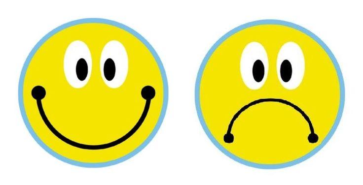 Imagen de caritas felices y tristes para pintar - Imagui