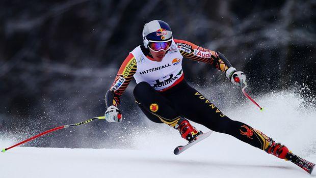Erik Guay of Mont-Tremblant, Que.