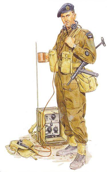 OPERATION VARSITY 1945 - British commando, pin by Paolo Marzioli                                                                                                                                                                                 Mais