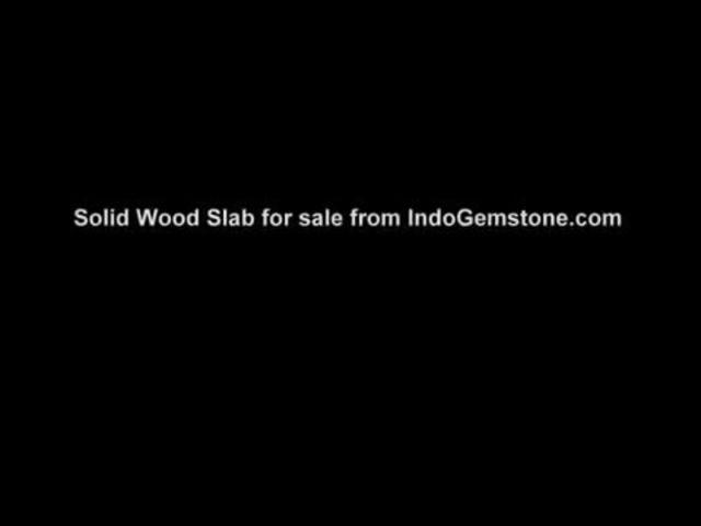 Solid Wood Slab