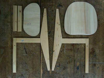 Bauanleitung Stuhl selber bauen - Hartz IV Möbel: Kreuzberg 36 Chair