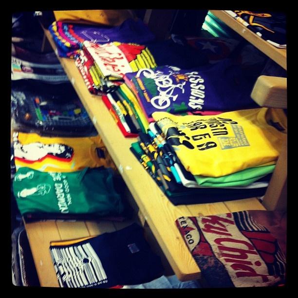 #pile #of #tshirts