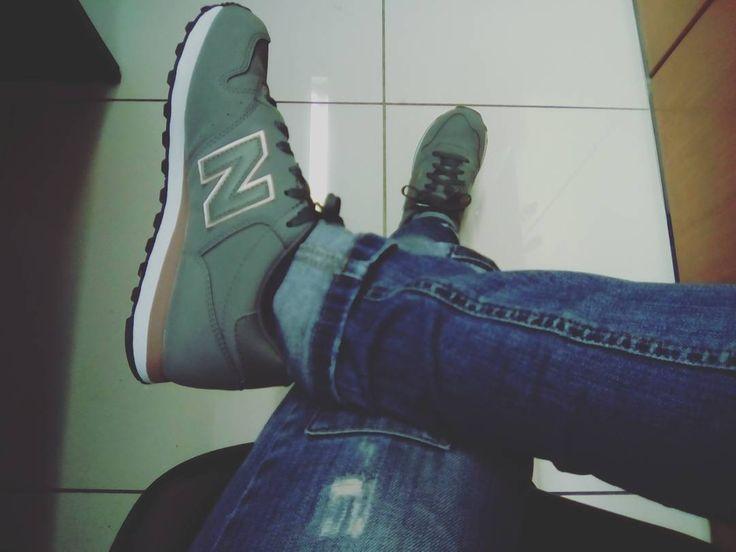 #newshoes #newlove #newbalance500 #happy