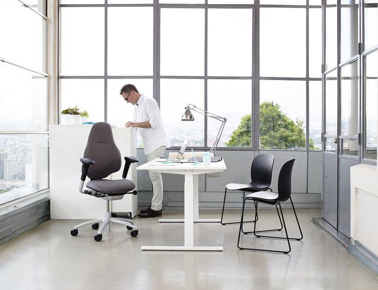 RH Mereo designed to help you do more and perform better #InspireGreatWork #design #ergonomics #Scandinavian #office #chair