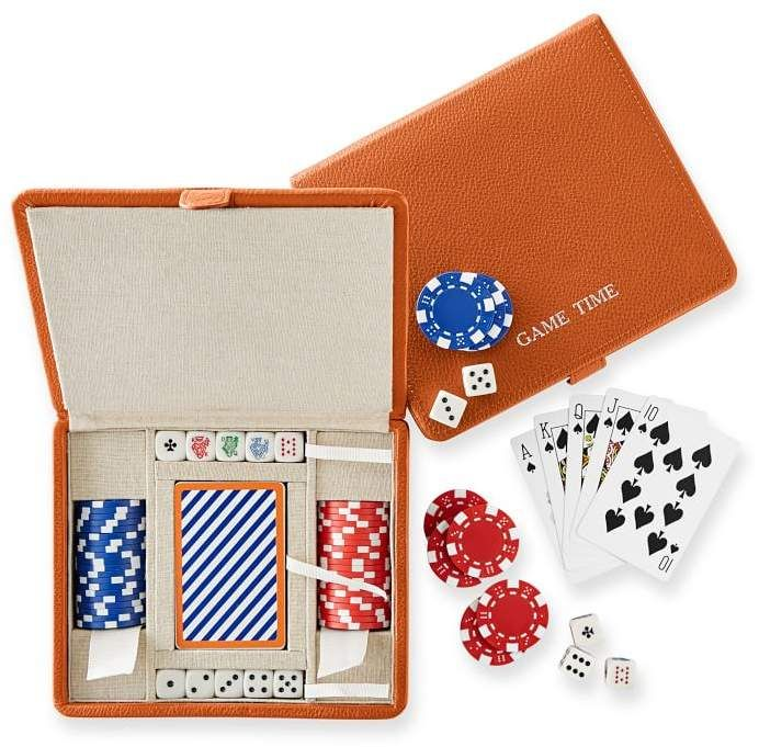 Mark And Graham Mini Travel Poker Set Poker Set Poker Contemporary Accessories