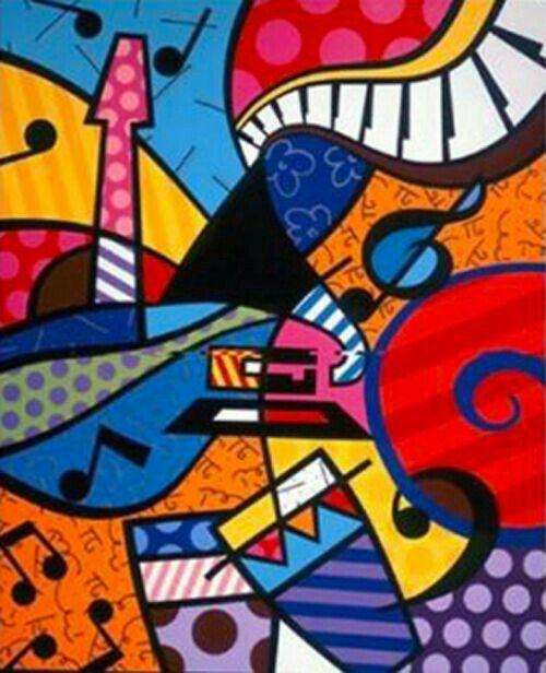 77 best images about pinturas romero britto on pinterest - Cuadros pop art comic ...