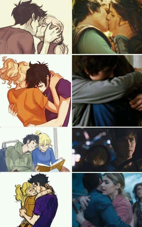 Logan and alex? No! Real percabeth is better.