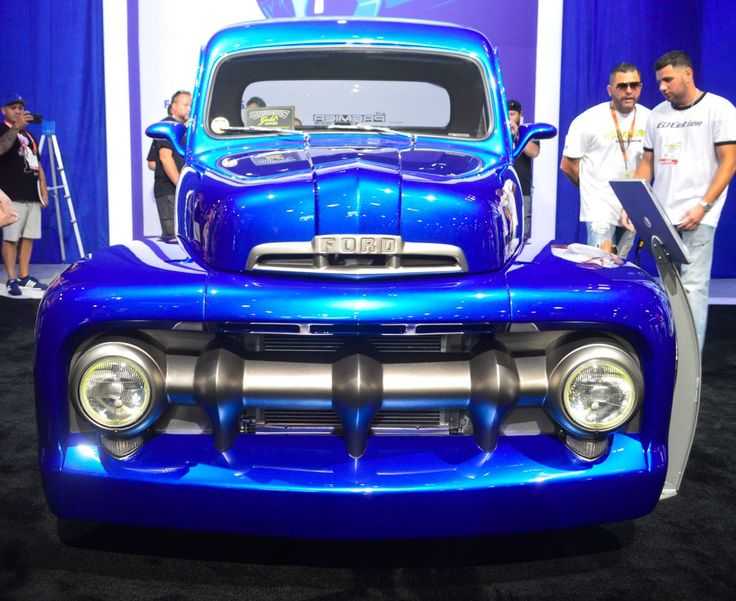 1951 Ford F1 by Premier Street Rods
