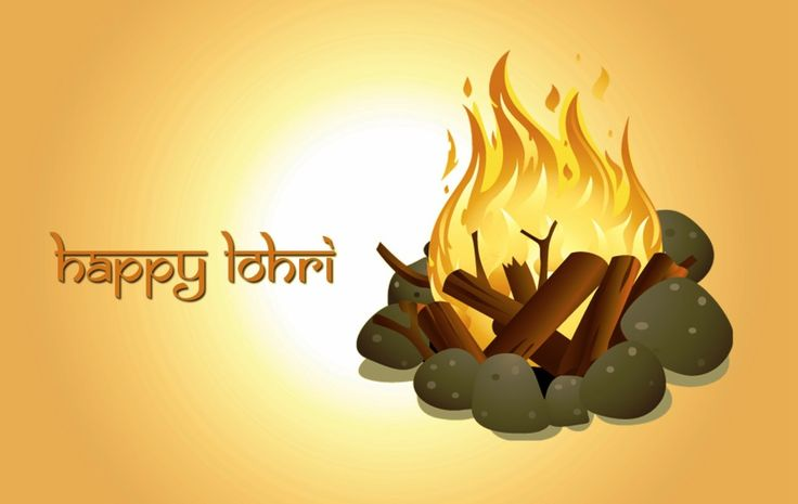 Happy Lohri Best Wishes 2017 Messages, SMS, Images and Pictures