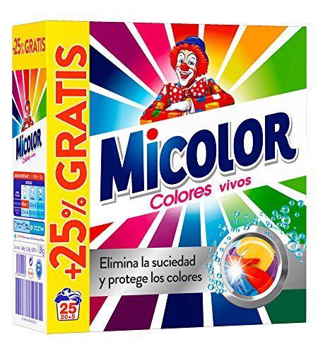 Micolor Colores Puros Detergente para Ropa en Polvo - 25 Dosis #Micolor #Colores #Puros #Detergente #para #Ropa #Polvo #Dosis