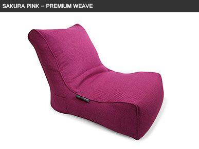 Sakura Pink Evolution Sofa Bean Bag Furniture Canada Modern Patio