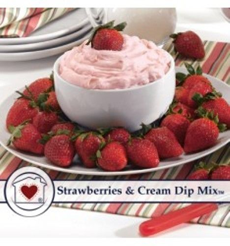 Country Home Creations Strawberries Cream Dip Mix Dips