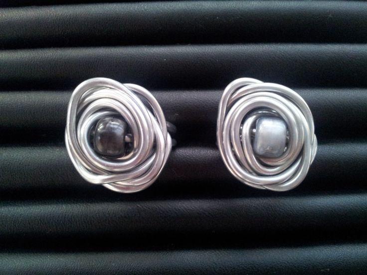 Aluminium wire ringen.