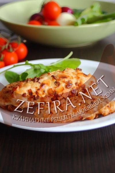Куриное филе с орехами миндаля-домашние рецепты с фото