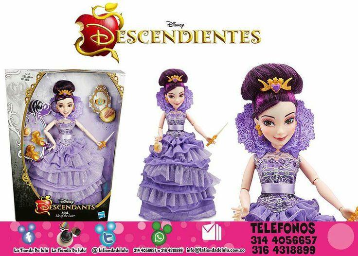 Muñeca Mal Traje de Coronación, Los Descendientes Disney.