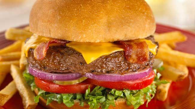 Hamburger - TGI Friday's Madrid