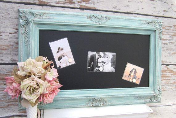 FRAMED WEDDING CHALKBOARDS For Sale 31x20 Framed door RevivedVintage