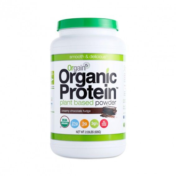 Creamy Chocolate Fudge Organic Protein Powder - Thrive Market