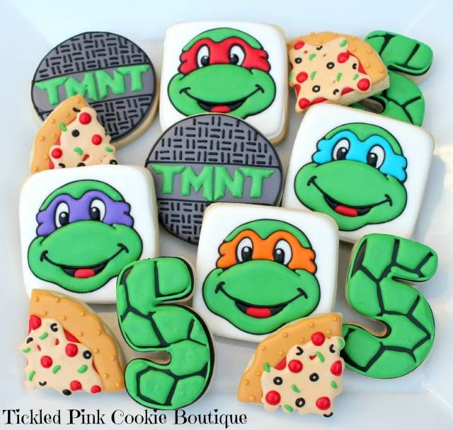 TMNT Cookies - - Yahoo Image Search Results