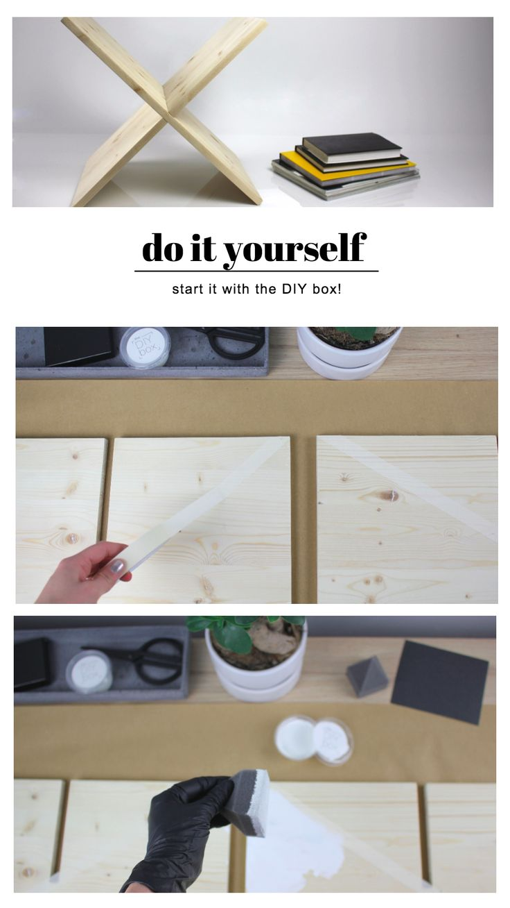 start it today! #theDIYboxproject  #theDIYbox #magazinholder #doityourself