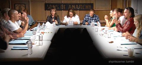 theo rossi the outstanding looking man | Table reading for the, third season finale of sons of anarchy