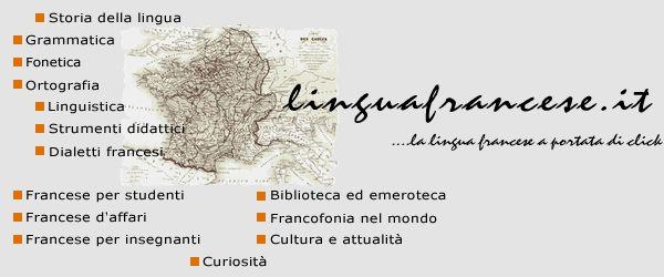 Linguafrancese.it - La lingua francese a portata di click