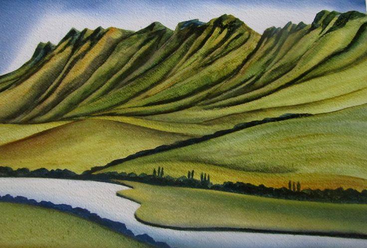Craggy Range By Raewyn Harris www.raewynharris.nz