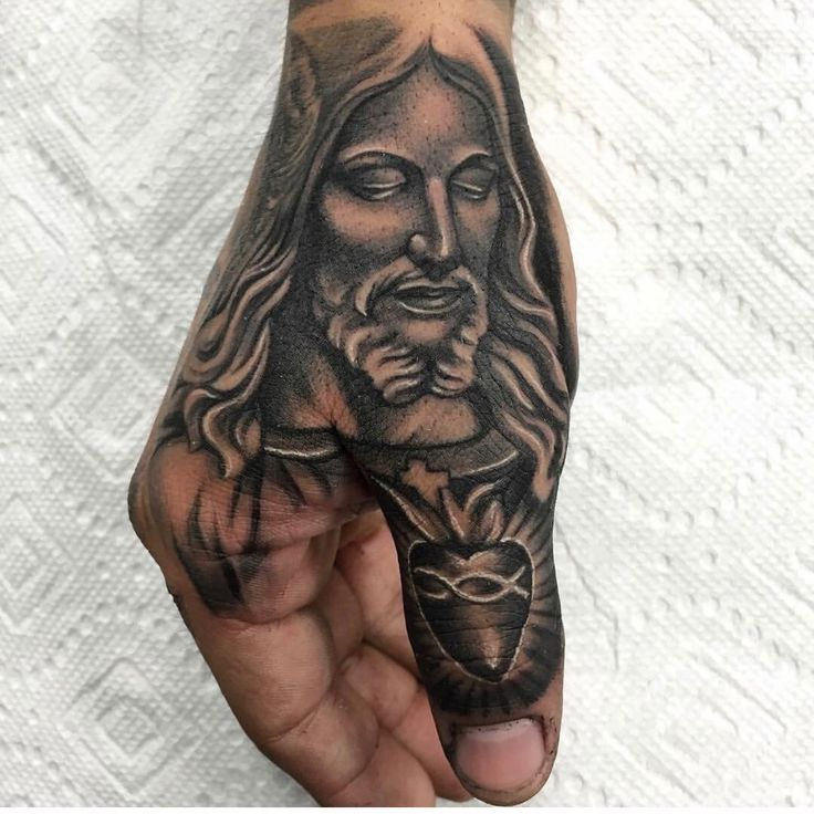 Another Jesus mural - of course yours would be a sleeve!