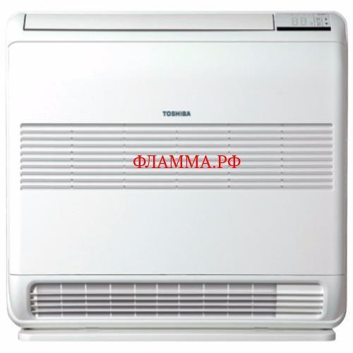 Напольный кондиционер Toshiba RAS-B18UFV-E/RAS-18N3AVR-E TOSHIBA (Япония) на печном складе ФЛАММА  по цене 125000.00 RUB    Напольный кондиционер      Toshiba RAS-B18UFV-E/RAS-18N3AVR-E                  Габариты внутреннего блока - 600х700х220 мм  Мощность охлаждения - 5 кВт  Мощность обогрева - 5,8 кВт  Потребляемая мощность (max.) - кВт  Габариты внешнего блока - 780х550х290 мм  Управление мощностью - не инверторное  Пульт Д/У - Есть  Рабочие температуры наружного воздуха - -10…