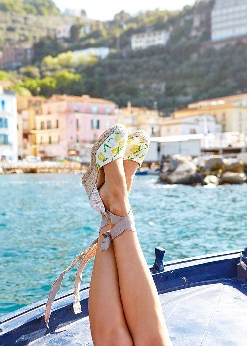 Printemps - été // 2016 // Tendance Capri // La dolce vità italiana