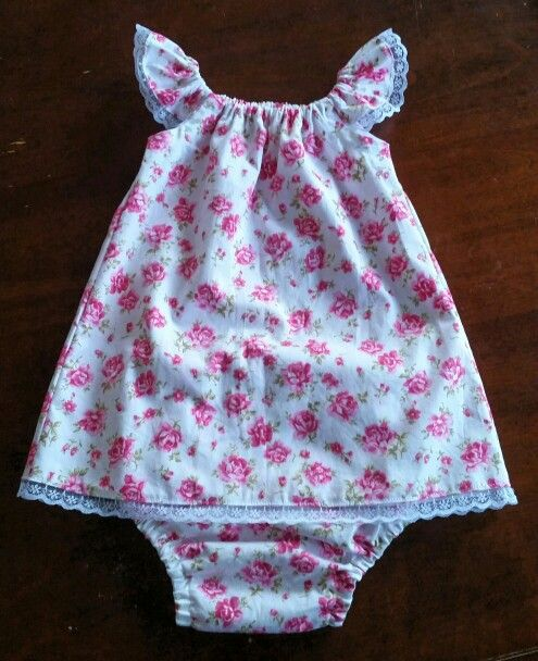Tadah Seaside Dress and Nappy Cover for bubba