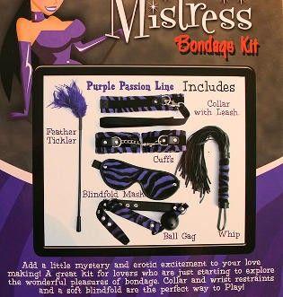 Mistress Bondage Kit Purple