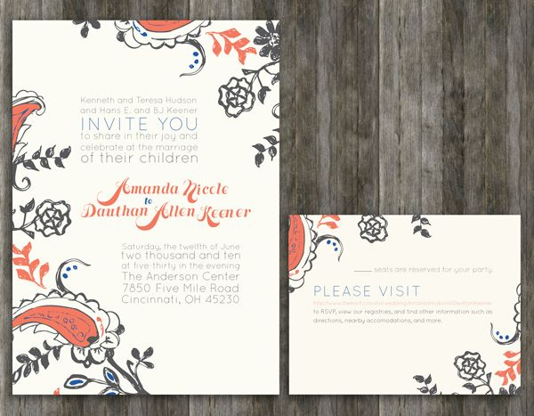 invitation layout designs