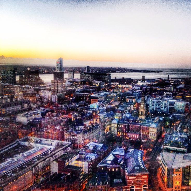 Amazing view / Liverpool / England