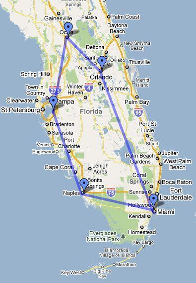 C'est une carte de la Floride. Je suis arrivé en Florida, et j'étais heureux. Nous avons conduit pendant longtemps. Je dormais dans la voiture tout le temps. Je suis née dans l'Ohio, mais, je souhaite que je suis née dans la Floride, parce qu'il fait chaud et c'est ne fait pas froid.