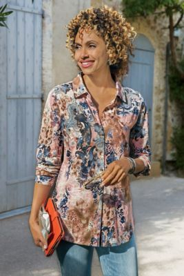 Wild Side Shirt from Soft Surroundings