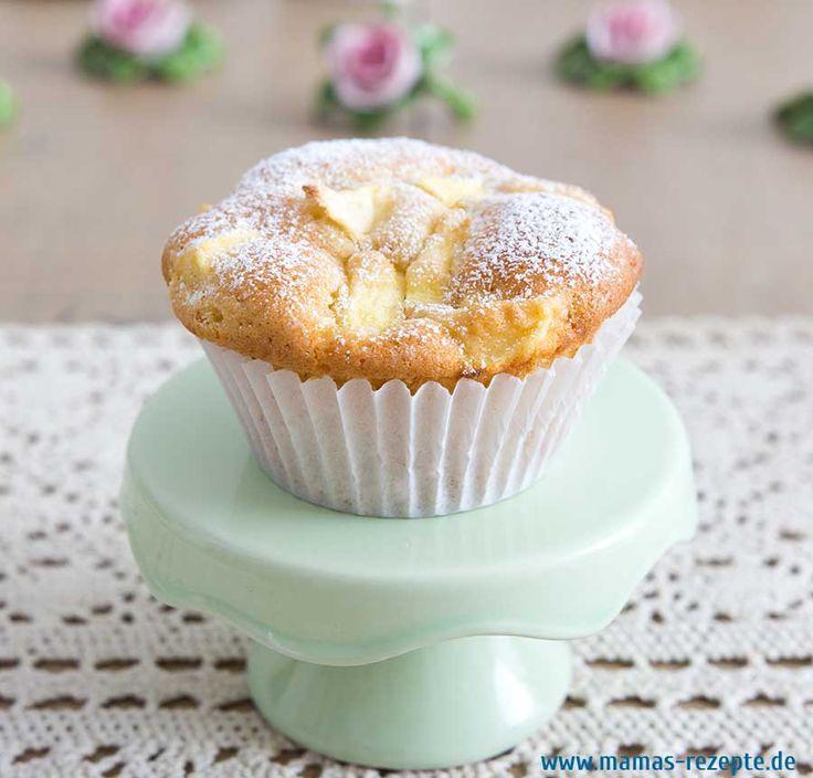 Rezept Apfel Zimt Muffins auf Mamas Rezepte Homepage