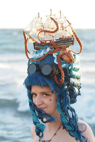 Unleash the KRAKEN! | 11 Stunning Octopus Hair Pieces
