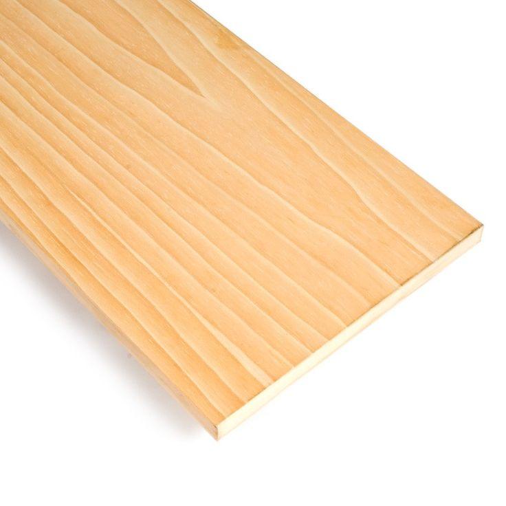 AGLOMERADO CHAPADO DE PINO - El aglomerado chapado es un aglomerado al que se le ha adhesivado en sus dos caras una chapa de madera natural, pino en este caso.