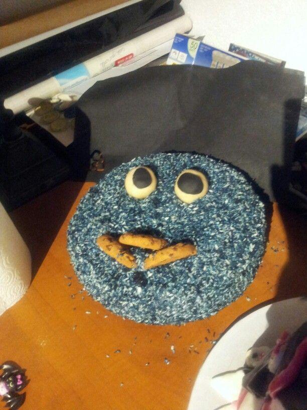 Krümelmonster Cake
