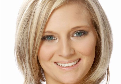 Hair Styles For Short Straight Hair: Best 25+ Haircuts For Fat Faces Ideas On Pinterest