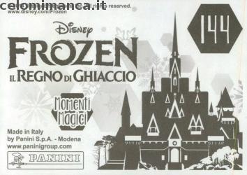 Frozen 2 - Momenti Magici: Retro Figurina n. 144