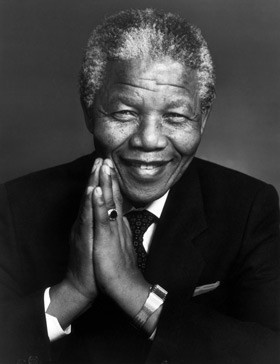 """Nelson Mandela (18 July 1918 - 5 December 2013). The announcement of his passing was given to an invited audience just after the viewing of the film 'Long Walk to Freedom'!   Personally - visiting Robben Island a few years ago, made a huge impression on me - how could they let men live like that? One of his quotes says so much in so few words - """"Education is the most powerful weapon which you can use to change the world""""!"""