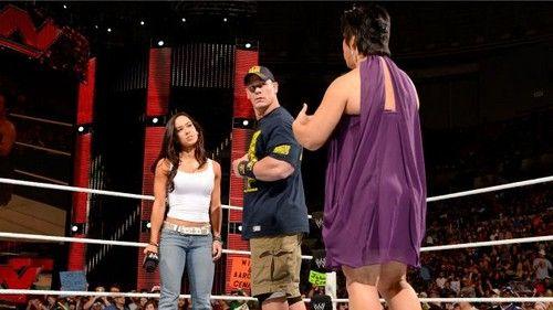 Aj Lee And John Cena Dinner