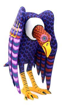 Cool! Oaxacan vulture sculpture.Mexican Carved WoodMore Pins Like This At FOSTERGINGER @ Pinterest