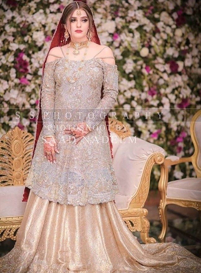 fd7f6b8d45 #wedding | Fashion in 2019 | Shadi dresses, Pakistani wedding dresses, Bridal  dresses